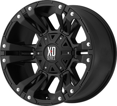 XD822 Monster II 18x9 5x5.0 - 5x5.5 +18mm