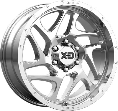 Fury 22x10 8x165.1 Chrome (-18 mm)