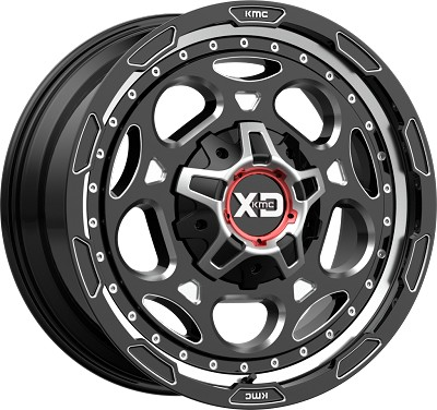 Demodog 20x10 8x170 Gloss Black Milled (-18 mm)